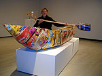 Greg Hill, Cereal Box Canoe, 2000