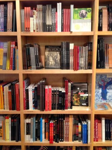Native Art Bookshelf
